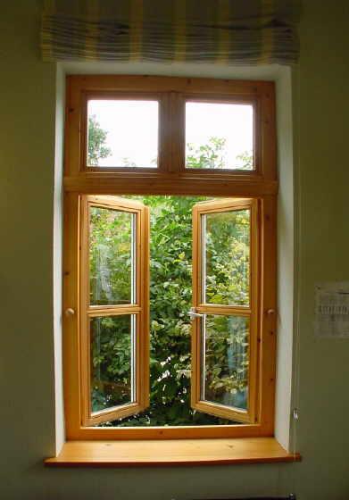 Holzfenster innenansicht  Brünjes